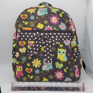 Super cute quilted backpack + crossbody set owls